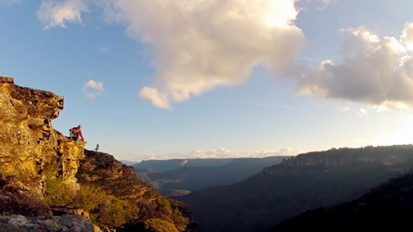 One afternoon in the Blue Mountains